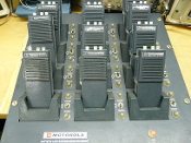 HT220 WHCA Engraved lot of 12 With Rack Charger
