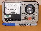 Motorola TEK7A DC/RF Alignment Meter WHCA