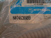 Motorola NKN6380B KDT Accessory Cable
