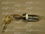 Medeco High Security Lock Cylinder with Key, Internal Switch