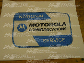 Motorola NSO Patch, Back of Uniform