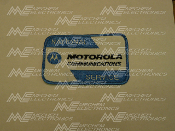 Motorola NSO Patch, Arm Sleeve of Uniform